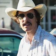 scene from Dallas Buyers Club with Matthew McConaughey