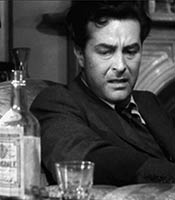 Actor Ray Milland in the movie The Lost Weekend