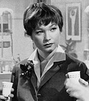 Actor Shirley MacLaine in the movie The Apartment