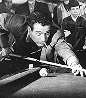 Actor Paul Newman in the movie The Hustler