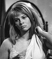 Actor Julie Christie in the movie Darling