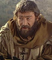 Actor Peter O'Toole in the movie The Lion in Winter
