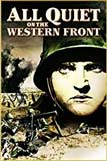 DVD cover for the movie All Quiet on the Western Front