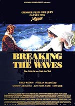 Poster for the movie Breaking the Waves
