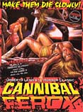 Poster for the movie Cannibal Ferox