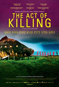 The Act of Killing documentary movie poster