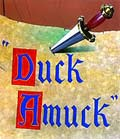 Poster for the film Duck Amuck