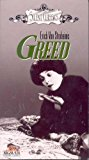 DVD cover for the 1924 movie Greed