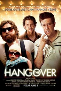 The Hangover movie DVD cover