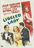 DVD cover for the movie Libeled Lady