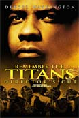 Poster for the movie Remember the Titans