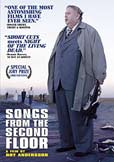 Image of DVD cover for the movie Songs from the Second Floor
