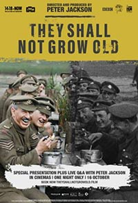 They Shall Not Grow Old documentary movie poster