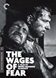 DVD cover for the movie The Wages of Fear