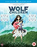 Poster for the movie Wolf Children