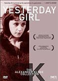 Poster for the movie Yesterday Girl