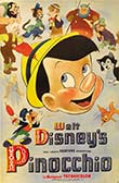 Poster for the 1940 animated movie Pinocchio