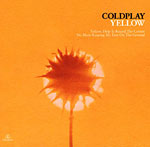 Yellow by Coldplay record sleve