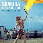 Shakira  - Hips Don't Lie single cover