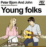 Peter Bjorn and John - Young Folks single cover