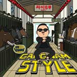 Gangnam Style single cover