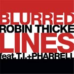 Blurred Lines single cover