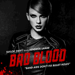 Bad Blood - Taylor Swift single cover