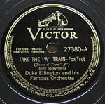 Take The A Train - victor record lable
