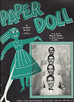 Paper Doll - Mills Brothers