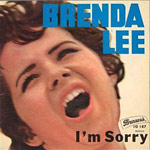 I'm Sorry - Brenda Lee single cover