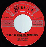 Will You Love Me Tomorrow - Shirelles record lable