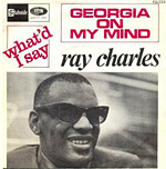 Georgia On My Mind - Ray Charles single cover