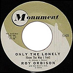 Only The Lonely - Roy Orbison record lable