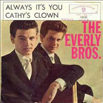 Cathy's Clown - Everly Brothers single cover