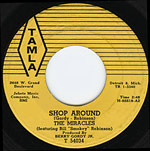 Shop Around - Miracles record lable