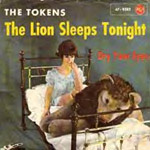 The Lion Sleeps Tonight - Tokens single cover