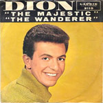 The Wanderer - Dion single cover