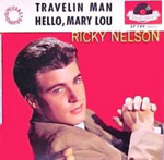Hello Mary Lou - Ricky Nelson single cover