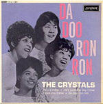 "single record cover for ""Da Doo Ron Ron"" by the Crystals"