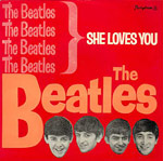 She Loves You single cover