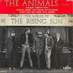 House Of The Rising Sun single cover