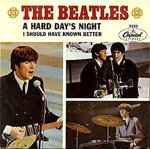 A Hard Day's Night single cover