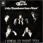 Mr. Tambourine Man - Byrds single cover