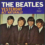 Yesterday - Beatles single cover