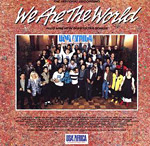 We Are the World - U.S.A. for Africa single cover