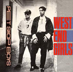 West End Girls - Pet Shop Boys single cover