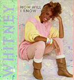 How Will I Know? - Whitney Houston single cover