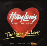 The Power of Love - Huey Lewis & The News single cover