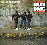 Walk This Way - Run-D.M.C. Aerosmith - single cover