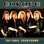 The Final Countdown - Europe single cover
